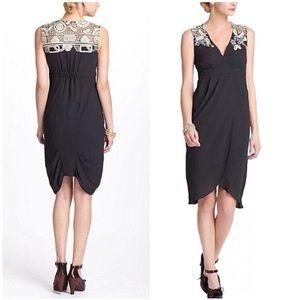 Anthropologie ~ Lace Tulip Wrap Dress